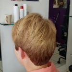Finish result of Colour cut and blow dry